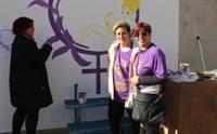 150 persones participen en la I Caminada popular de la Dona a Bell-lloc d'Urgell