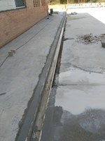 Arranjament del pati de l'escola Ramon Farrerons
