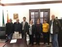 Bell-lloc rep la visita del Conseller de Territori i Sostenibilitat de la Generalitat de Catalunya,  Damià Calvet