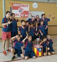 Biologic Kali Bell-lloc, 3r classificat en el Campionat de Catalunya d'Hoquei Patins en categoria prebenjamí