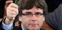 Concentració en suport al president Puigdemont