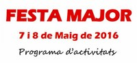 Disponible el programa de la Festa Major de Maig