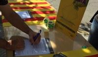 L'Assemblea de Bell-lloc d'Urgell x la Independència recull signatures per a la celebració del Referèndum