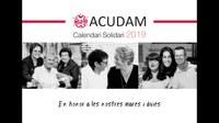 L'Associació de dones Flor de Lis participa en el calendari solidari de l'ACUDAM