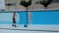 Les piscines de Bell-lloc es preparen malgrat la incertesa de com i quan podran obrir al públic