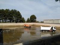 Neteja dels dipòsits d'aigua