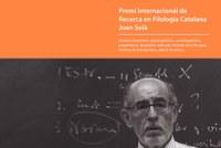Oberta la convocatòria al V Premi Internacional de Recerca en Filologia Catalana Joan Solà