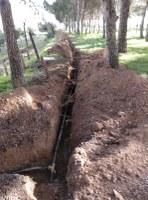 Reparació de la xarxa d'abastament d'aigua potable al Cementiri Municipal