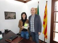 Visita de la Directora General de Joventut